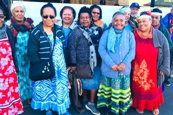 Départ de la délégation calédonienne pour le festival des arts mélanésiens 2018