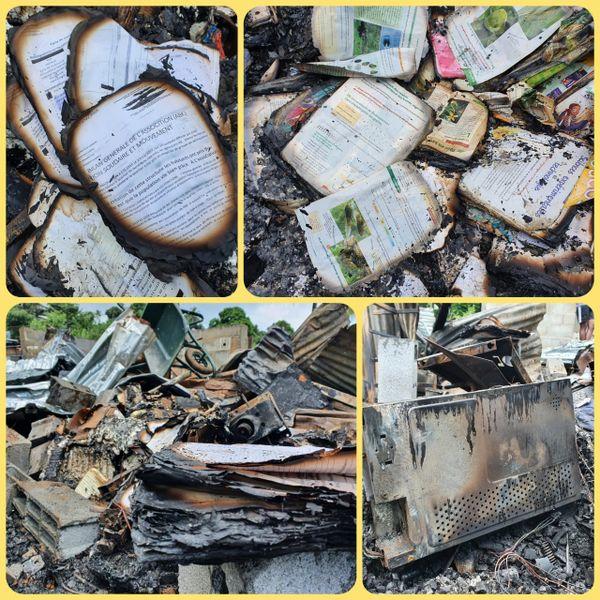 Incendie école ABK