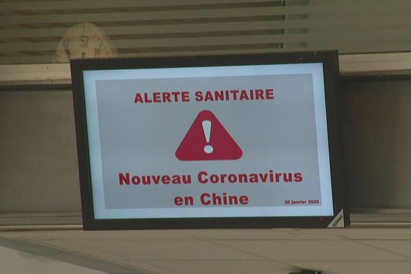 PAnneau d'alerte au coronavirus à Tontotua