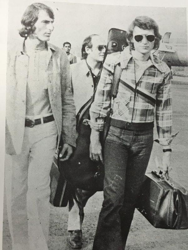 Johhny à la tontouta 29/02/1972