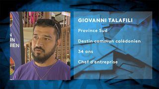 Fiche candidat Giovanni Talafili