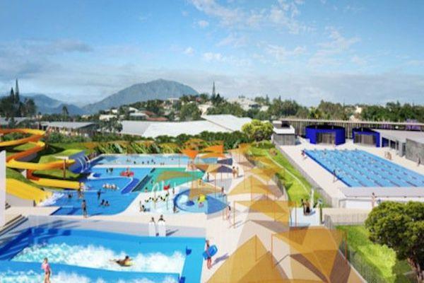Projet de centre aquatique de Magenta
