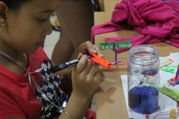 Des ateliers pour les enfants à la Maison de la Culture