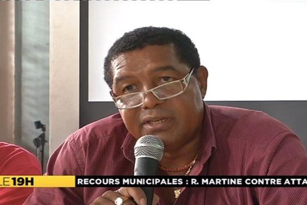 Raphael Martine maire de Saint-Pierre