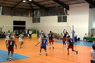 Volley finale aller VBC St-Leu/St-Denis Olympique