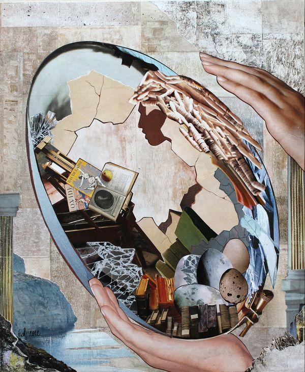 collage de Hélène Michel Donadieu