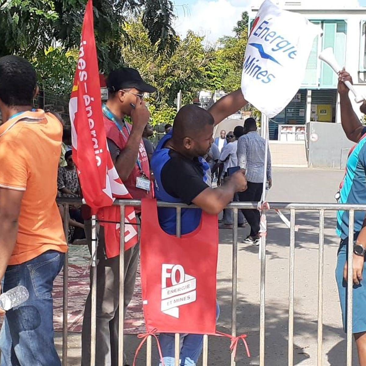 Les agents d'EDM Mayotte en grève, ils contestent le changement d'actionnaire dans l'entreprise