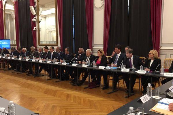 16e comité des signataires : délégations réunion sécurité justice