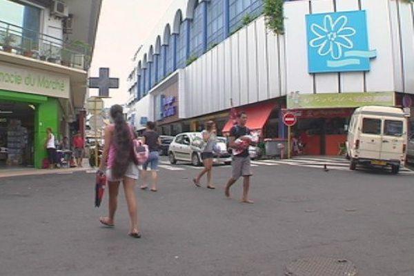 Centre-ville de Papeete