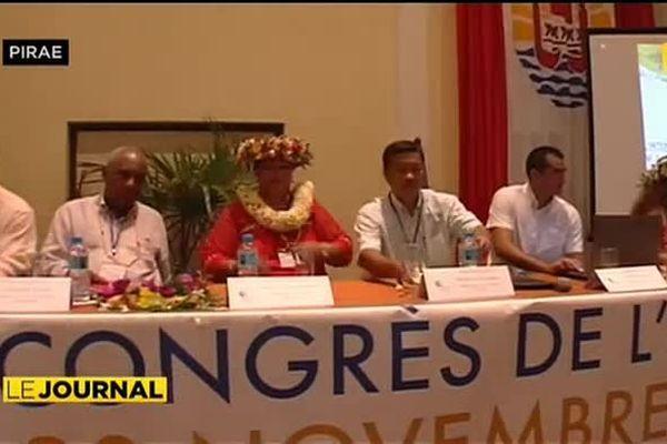 Tahiti accueille le 23e congrès des communes de l'outremer