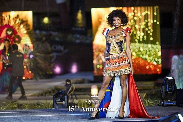 Louïz concours des talents Miss Internationale Queen