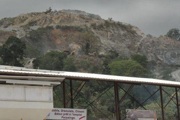 Carrière IBS à Kangani