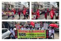 Plusieurs centaines de personnes manifestent à Fort-de-France notamment contre l'obligation vaccinale