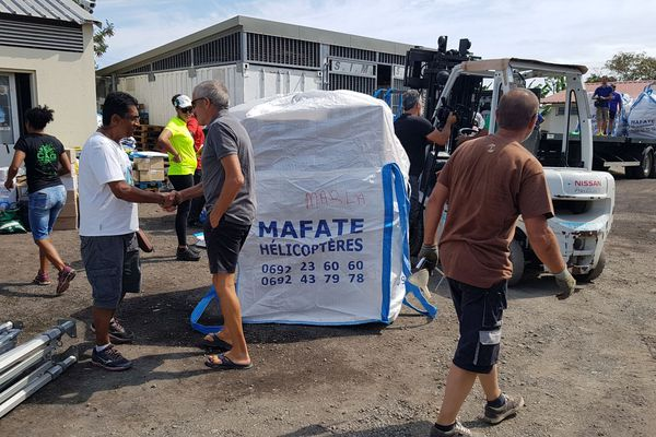 Grand Raid ravitaillement pour Mafate