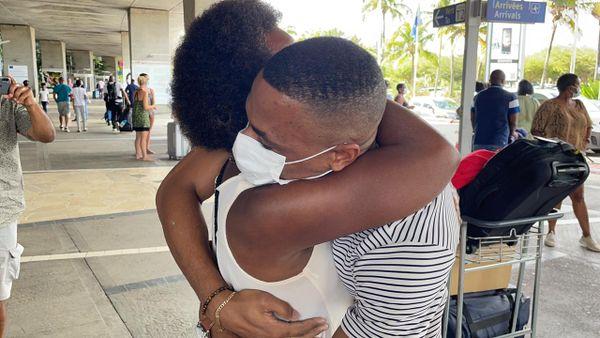 Wilhem Belocian de retour en Guadeloupe 11/03/2021