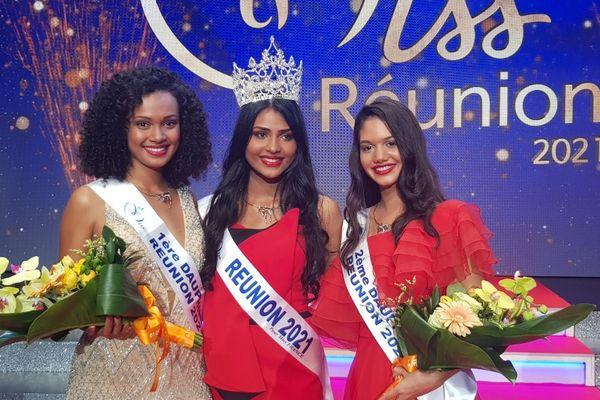 Dana Virin, la nouvelle miss Réunion 2021.