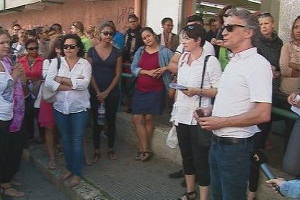 Grève Cogetra Cafat centre-ville directeur par interim Xavier Martin (25 août 2017)