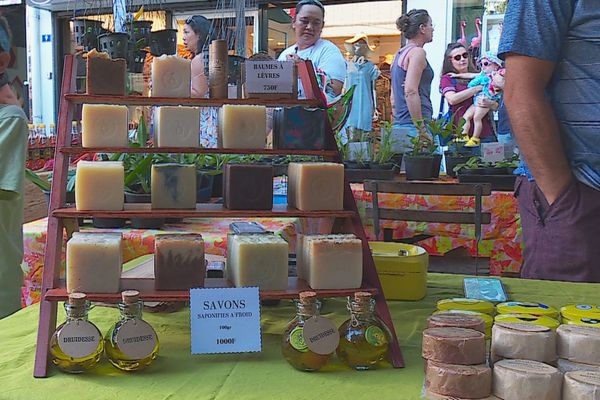 marché nature / savon bio