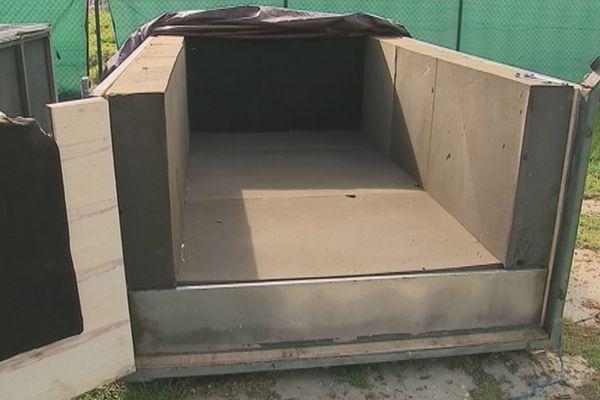 Cage transport Kaï, le lamantin