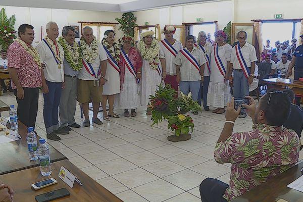 Anthony Jamet / Conseil municipal / Taiarapu Est