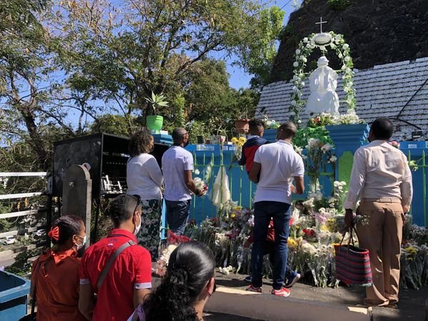 Fête de la Salette 2021 Notre Dame pèlerins