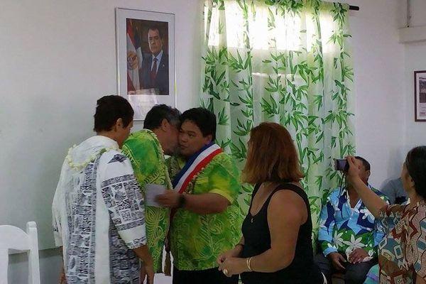 Damas Teuira élu nouveau maire de Mahina