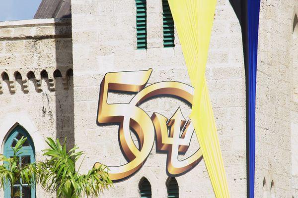 Façade parlement Barbade