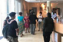Exposition aux archives territoriales de Martinique.
