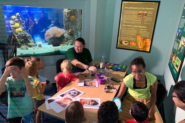 Noël à l'aquarium