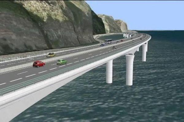Route du littoral : le tribunal administratif met en délibéré sa décision sur la requête de l'Alliance