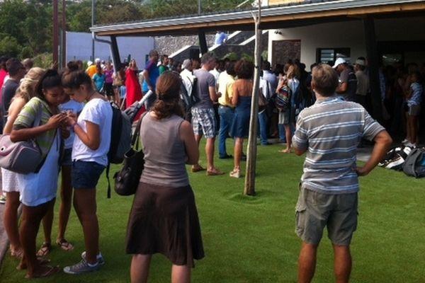 Tennis : inauguration Moulin-Joli