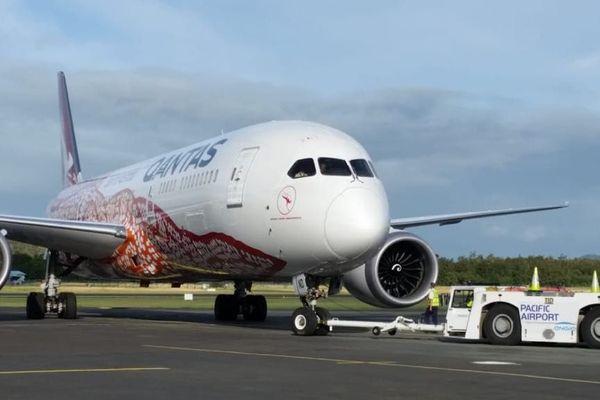 Qantas détourné sur Tontouta