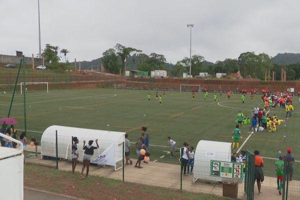 Tournoi de football pour les jeunes à Rémire 21/12/2019