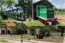 Extension du chemin de fer du musée Saint-James vers l'habitation Lasalle à Sainte-Marie.