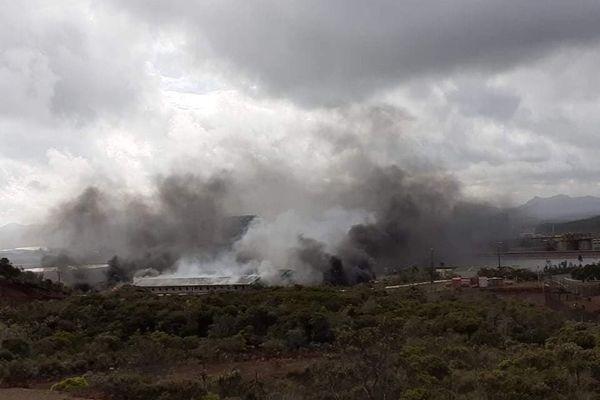 Incendie Usine du Sud