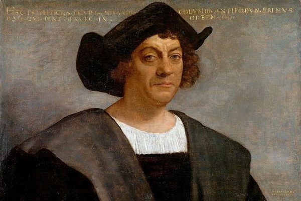 Portrait Christophe Colomb par Sebastiano del Piombo
