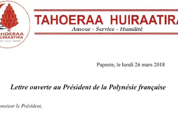 tahoeraa/ lettre ouverte