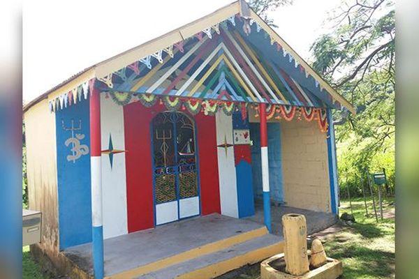 temple indien à Saint-Pierre
