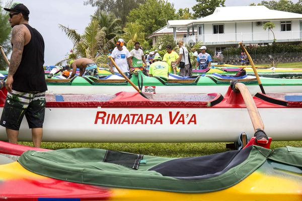 Rimatara va'a - Hawaiki nui 2015