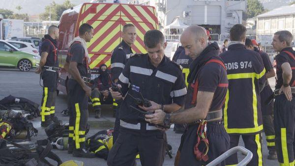incendie à bord d'un navire