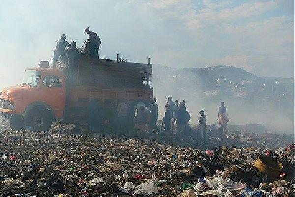Pollution et déchets à Tana
