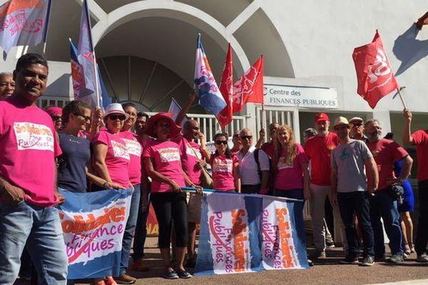 Finance publique en grève 3 mai
