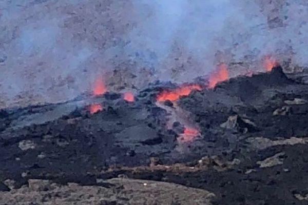 La 3ème éruption de l'année visible du Pas de Bellecombe