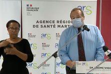 Jérôme Viguier, directeur de l'ARS lors de son point presse (11 février 2021).