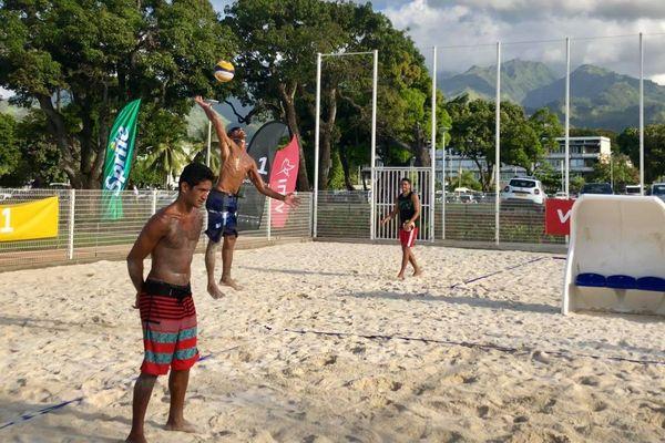 Oceania beach volley : les matchs d'ouverture