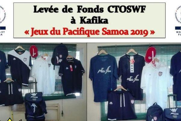 Levée de fonds par le CTOSWF pour les jeux du Pacifique 2019
