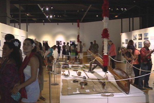 L'exposition des Tahiti Nui Explorers au Musée de Tahiti et des îles