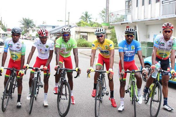 L'équipe Guadeloupe à Sinnamary