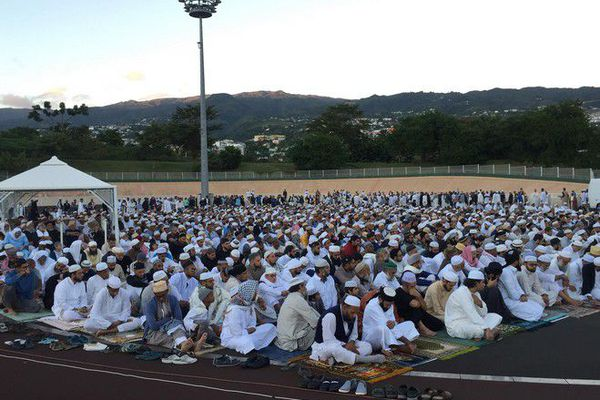 Fin ramadan Aïd el Fitr vélodrome Saint Denis 16 06 18
