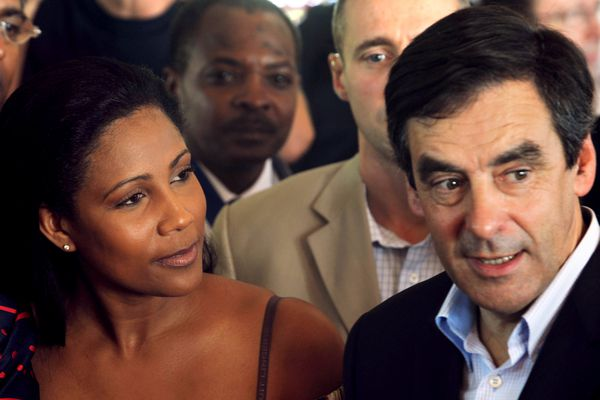 Christine Kelly et François Fillon